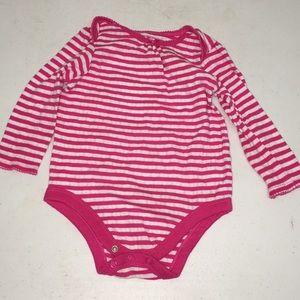 Striped onsie